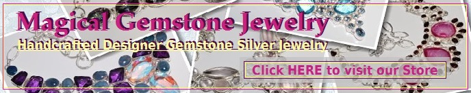 Magical Gemstone Jewelry - Genuine Gemstone Silver Jewelry Online Store